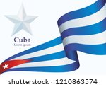 illustrative editorial flag of... | Shutterstock .eps vector #1210863574