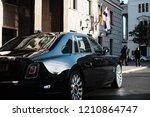 riga  september 2018   new... | Shutterstock . vector #1210864747
