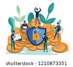 hacker internet activity ...   Shutterstock .eps vector #1210873351