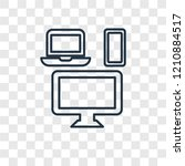 mass media concept vector... | Shutterstock .eps vector #1210884517