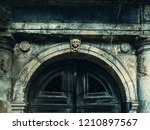 Old Crypt Entrance With Death...