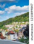 view of triberg in schwarzwald...   Shutterstock . vector #1210899847