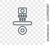 gravity concept vector linear... | Shutterstock .eps vector #1210900387
