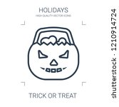 trick or treat icon. high... | Shutterstock .eps vector #1210914724