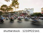ho chi minh  saigon   vietnam   ... | Shutterstock . vector #1210922161