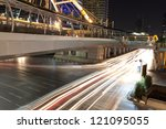 the image of night traffic at... | Shutterstock . vector #121095055