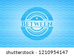between water wave... | Shutterstock .eps vector #1210954147