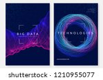 visualization background.... | Shutterstock .eps vector #1210955077