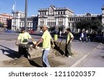 a main square at the guatemala... | Shutterstock . vector #1211020357
