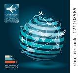 Infographic Airplane...