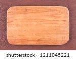 frame made of plank lies on... | Shutterstock . vector #1211045221