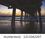 under the pier | Shutterstock . vector #1211062207