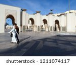 casablanca  morocco   december... | Shutterstock . vector #1211074117