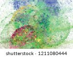 low poly mosaic background.... | Shutterstock .eps vector #1211080444