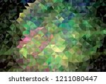 low poly mosaic background.... | Shutterstock .eps vector #1211080447