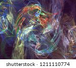 abstract background. digital... | Shutterstock . vector #1211110774