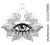 chakra concept. inner love ...   Shutterstock .eps vector #1211170081