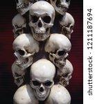 Human Skulls Close Up....