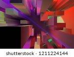3d rendering. background... | Shutterstock . vector #1211224144