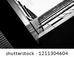 abstract architectural exterior ... | Shutterstock . vector #1211304604