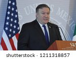 u.s secretary of state mike... | Shutterstock . vector #1211318857
