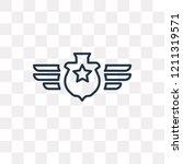 rank vector outline icon...   Shutterstock .eps vector #1211319571
