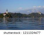 lake bled  slovenia   october... | Shutterstock . vector #1211324677