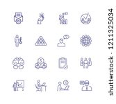management line icon set.... | Shutterstock .eps vector #1211325034