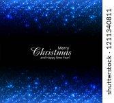 beautiful merry christmas... | Shutterstock .eps vector #1211340811