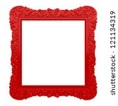 Red Frame With Beautiful...