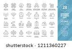 vector editable stroke line... | Shutterstock .eps vector #1211360227