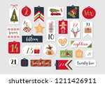 abstract printable tags... | Shutterstock .eps vector #1211426911