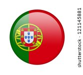 the portuguese flag in the form ... | Shutterstock . vector #121145881