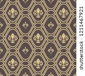 seamless pattern. modern... | Shutterstock . vector #1211467921