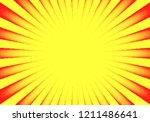 dotwork sun rays card or poster ... | Shutterstock .eps vector #1211486641