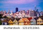 an amazing sunrise along... | Shutterstock . vector #1211511061