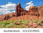 capitol reef national park | Shutterstock . vector #1211519041
