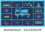 business inforgraphic slide... | Shutterstock .eps vector #1211526154