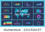 business presentation page... | Shutterstock .eps vector #1211526157
