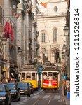 lisbon   portugal   september... | Shutterstock . vector #1211526814
