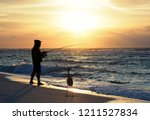 Silhouette Of Unrecognizable...