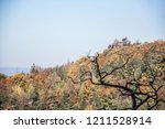 hiking in bohemian switzerland... | Shutterstock . vector #1211528914