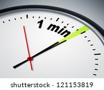 an image of a nice clock with 1 ... | Shutterstock . vector #121153819