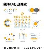 ads report visualisation... | Shutterstock .eps vector #1211547067