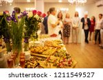 a lot of varied and delicious... | Shutterstock . vector #1211549527
