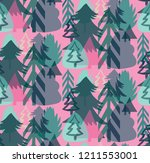 retro vintage graphic... | Shutterstock .eps vector #1211553001