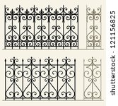 Wrought Iron Modular Railings...