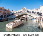 venice  italy   april 29  2017  ... | Shutterstock . vector #1211605531