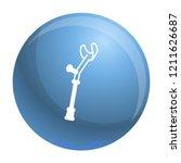 elbow crutch icon. outline...   Shutterstock .eps vector #1211626687