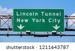 Lincoln Tunnel And New York...
